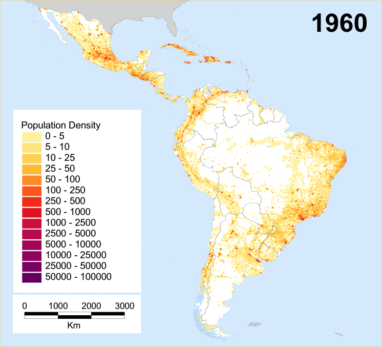 Historical Population Density Maps The History Forum
