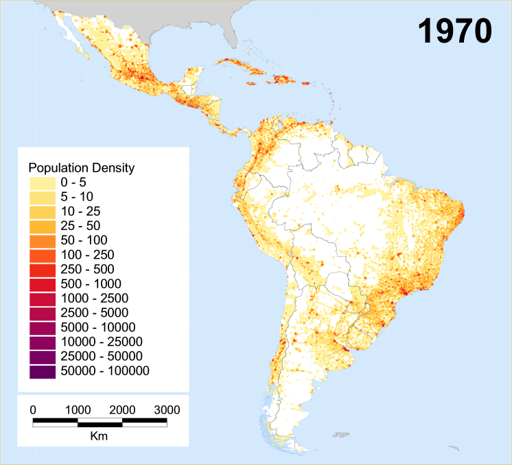 Map Of America By Population.Historical Population Density Maps The History Forum